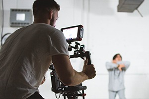 Kamerateam mobil einsatzbereit
