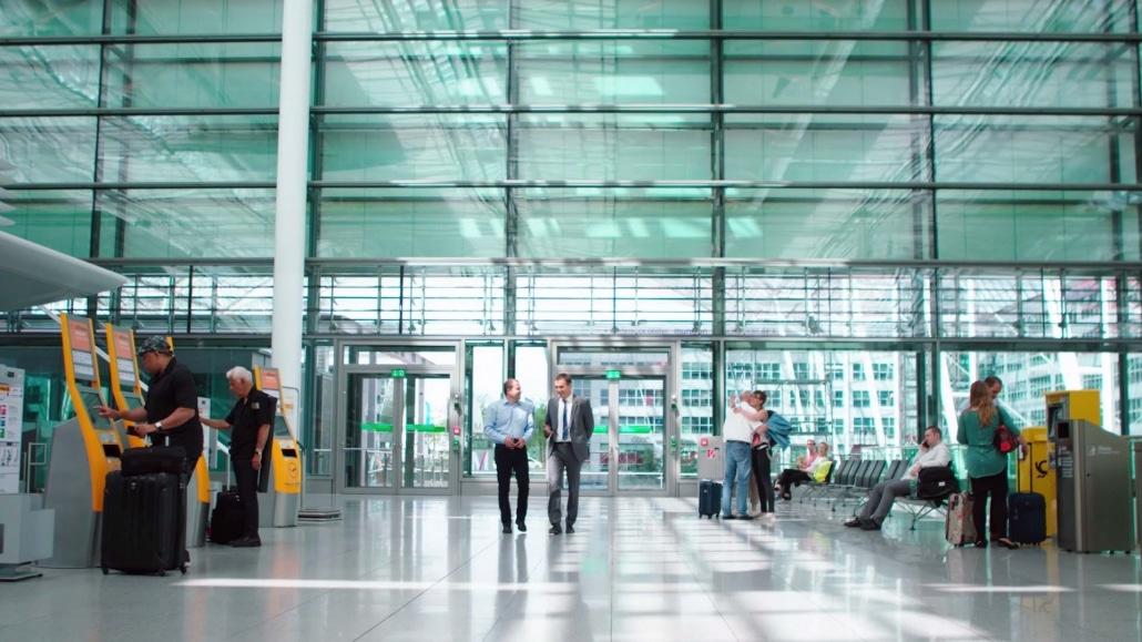 Imagefilm Frankfurt Controlware Flughafen München