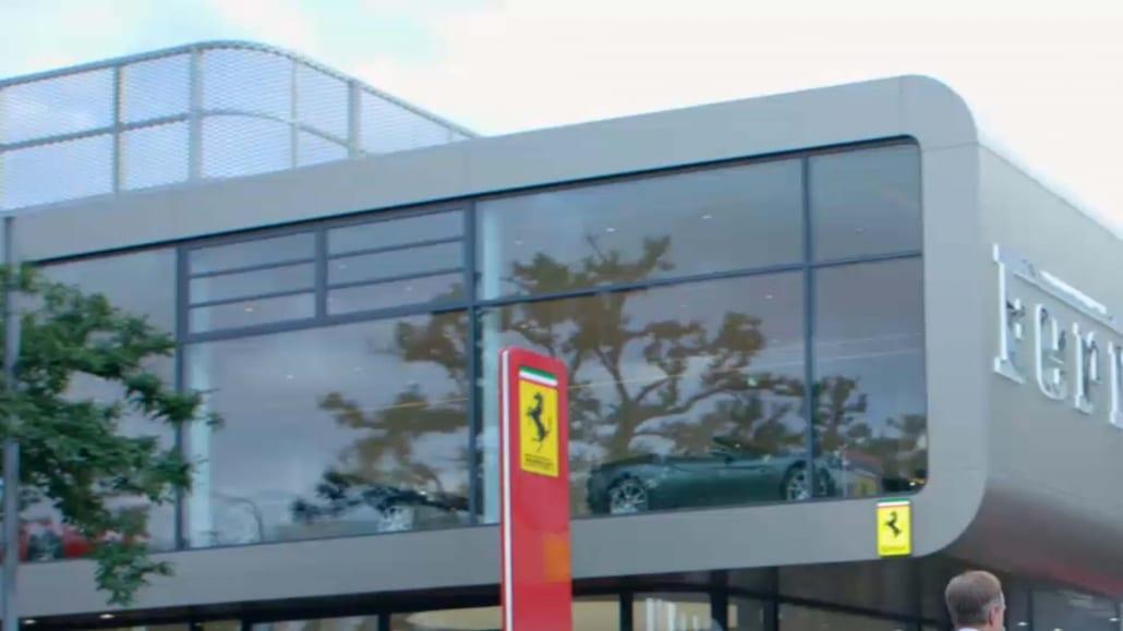 Eventfilm Corporate TV Markenfilm Frankfurt Ferrari Grand Opening
