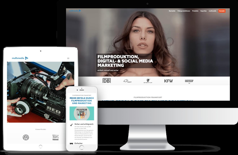 Webdesign Agentur Frankfurt Responsive Design