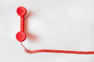 Social Media Marketing Tipps - Telefonhörer