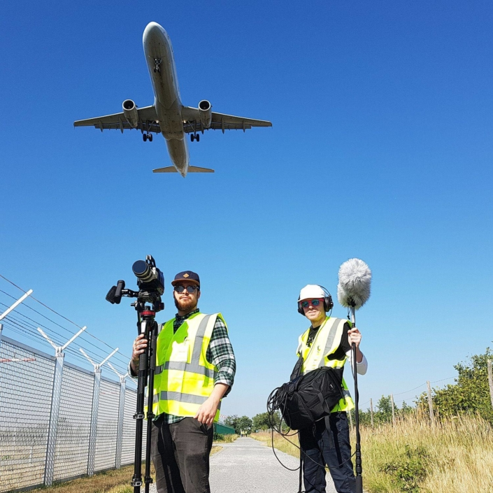 Kamerateam Frankfurt Flughafen