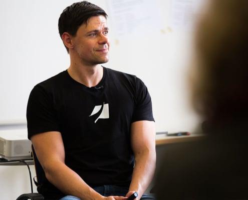 Videospezialist Christian Muth
