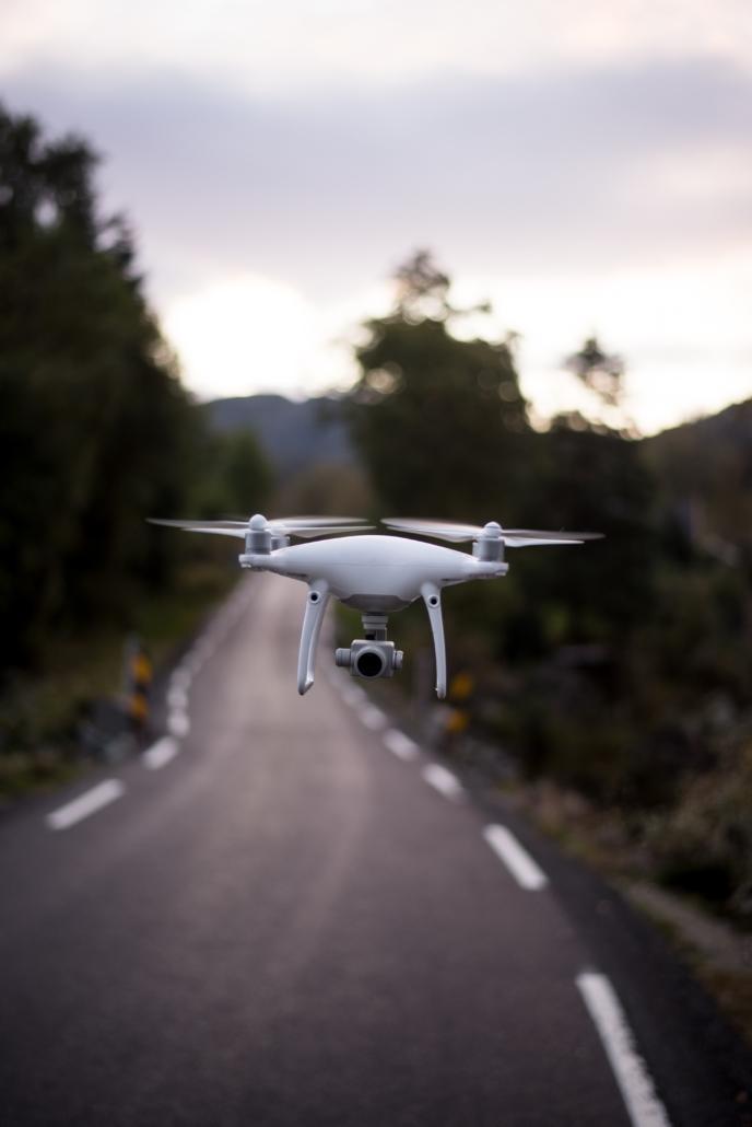 Drohnenbilder Produktion Frankfurt