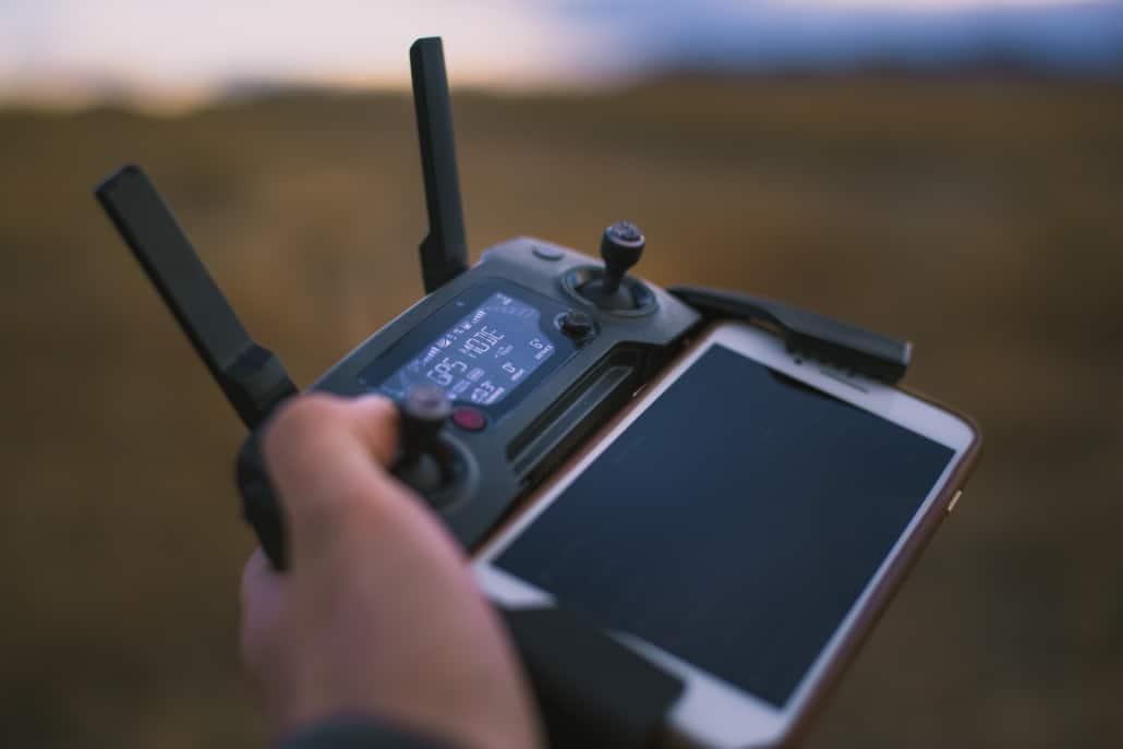 Drohnenbilder Frankfurt