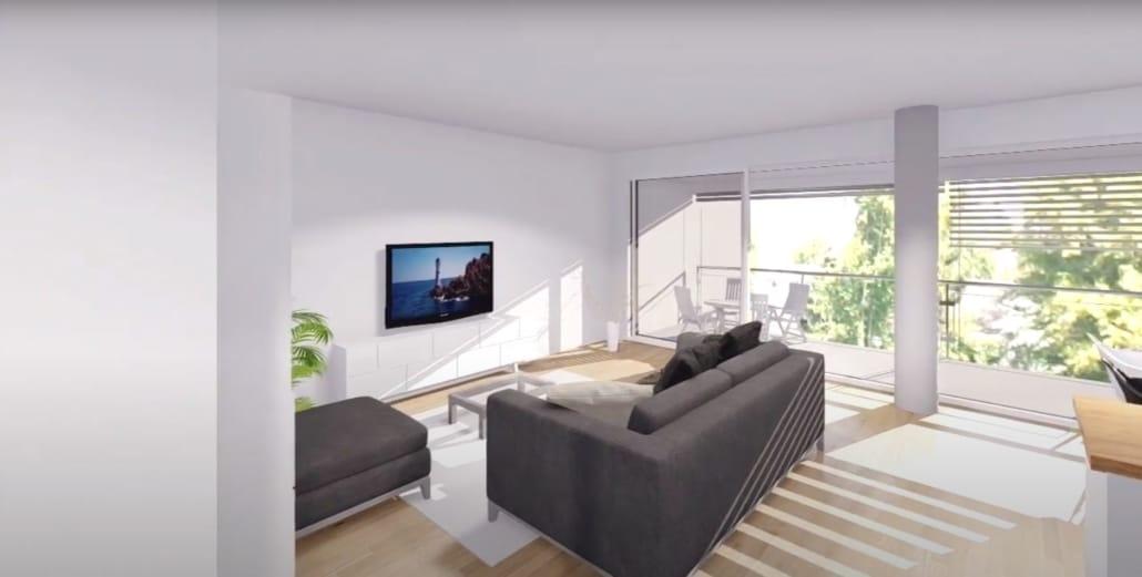 Virtueller Rundgang in der Immobilienbranche