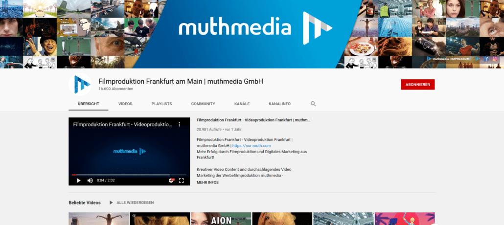 YouTube Marketing: Mehr YouTube Abonnenten dank ausdrucksstarkem Kanal-Trailer