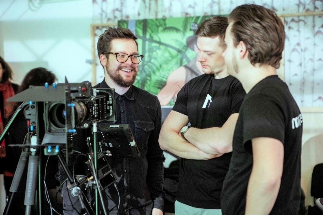 Erklärvideo Realfilm: Kamerateam