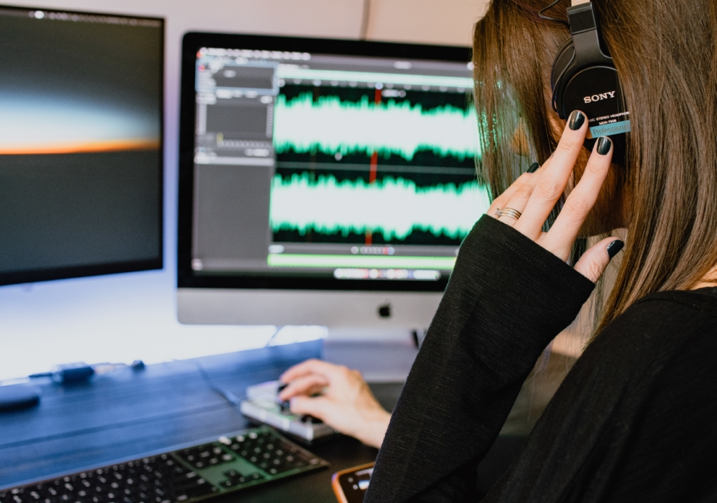 Podcast in der Postproduktion Podcast Produktion Frankfurt